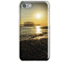 Brighton Sea Front Sunset 5 iPhone Case/Skin