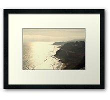 Paseo Del Mar Framed Print