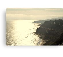 Paseo Del Mar Canvas Print