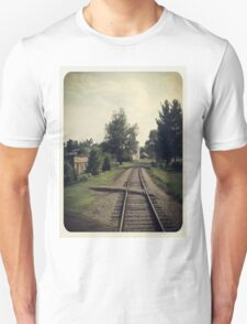Westbound Through A Small Town Unisex T-Shirt