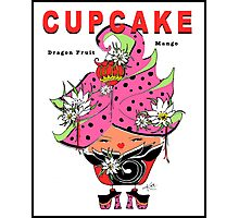 CUPCAKE : Dragon Fruit Mango Photographic Print