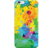 Colorful Ink Splash iPhone Case/Skin