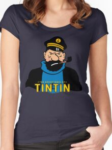 haddock Women's Fitted Scoop T-Shirt