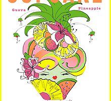 CUPCAKE : Pineapple Guava by katreece
