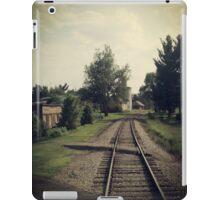 Westbound Through A Small Town iPad Case/Skin
