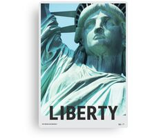 Liberty - For Freedom And Democracy Canvas Print