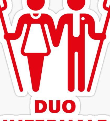 Duo Infernale Sticker