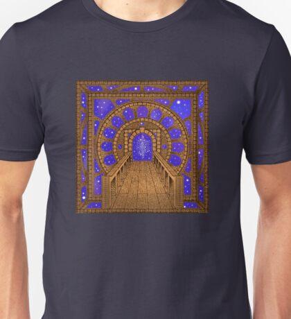 Infinity Gate (órvio) Unisex T-Shirt