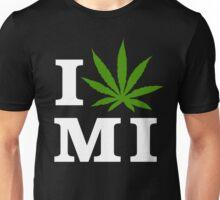 I Love Michigan Marijuana Cannabis Weed T-Shirt                                          Unisex T-Shirt