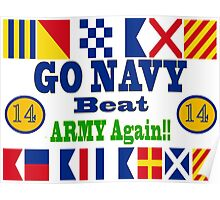 Go Navy Beat Army! Why Wait? Poster