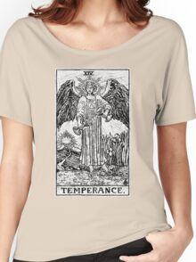 Temperance Tarot Card - Major Arcana - fortune telling - occult Women's Relaxed Fit T-Shirt