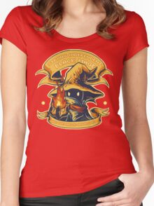 Strong Independent Black Mage Women's Fitted Scoop T-Shirt