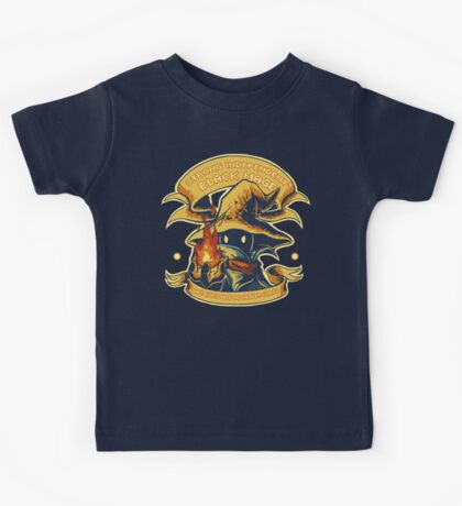 Strong Independent Black Mage Kids Tee