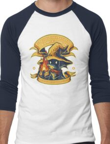 Strong Independent Black Mage Men's Baseball ¾ T-Shirt