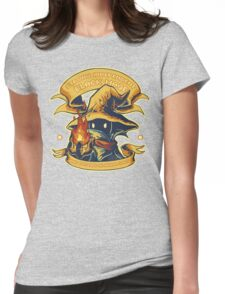 Strong Independent Black Mage Womens Fitted T-Shirt