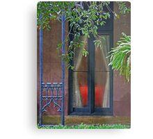 The Parish Window Metal Print