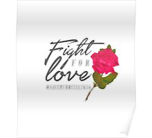 Fight for Love. Poster