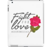 Fight for Love. iPad Case/Skin