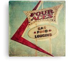 Four Aces Motel  Metal Print