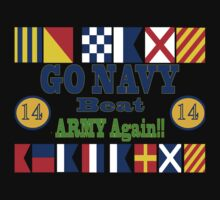 Go Navy Beat Army! Why Wait? One Piece - Long Sleeve