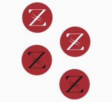 Z Logo sticker sheet by GalacticAtlas