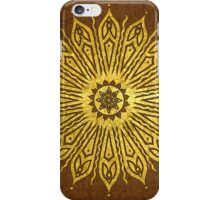 ozoráhmi mandala, copper iPhone Case/Skin