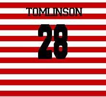 Louis Tomlinson - 28 - Doncaster Rovers - Home Colours by Julia Kolos