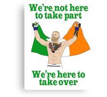 Conor McGregor MMA Canvas Print
