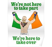 Conor McGregor MMA Poster
