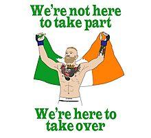 Conor McGregor MMA Photographic Print