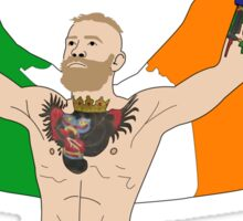 Conor McGregor MMA Sticker