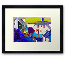 Portmeirion - False Colour Framed Print
