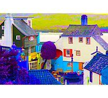 Portmeirion - False Colour Photographic Print