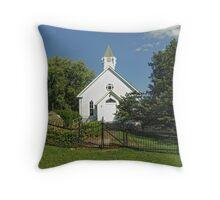 Ebenezer UMC Cemetery Throw Pillow