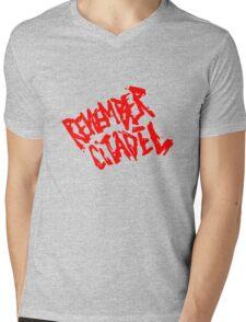 Game - Remember Citadel Mens V-Neck T-Shirt