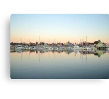 Marina Village Canvas Print