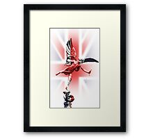 Eros in Piccadilly Circus London Framed Print