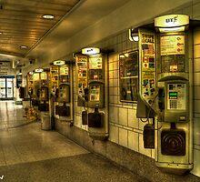 Victoria Coach Station payphone by josefbrianenojo
