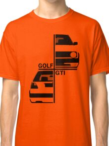 vw golf, golf gti mk2 Classic T-Shirt