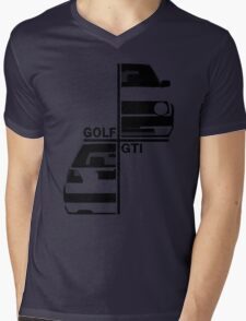 vw golf, golf gti mk2 Mens V-Neck T-Shirt