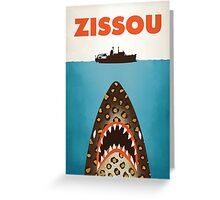 Zissou Greeting Card