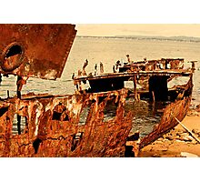 Ship wreck -Redcliffe Photographic Print