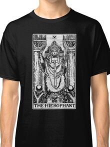 The Hierophant Tarot Card - Major Arcana - fortune telling - occult Classic T-Shirt