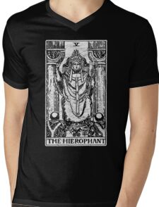 The Hierophant Tarot Card - Major Arcana - fortune telling - occult Mens V-Neck T-Shirt