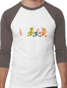 Mr. Pointy Men's Baseball ¾ T-Shirt