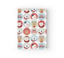 Christmas Characters  Hardcover Journal