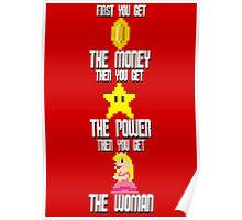 Mario Montana (today colors) Poster