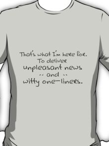 Witty One-Liners T-Shirt
