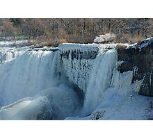 Icy Niagara Falls Photographic Print