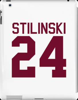 Stiles Stilinski's Jersey - maroon/red text by sstilinski